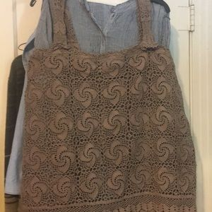 Tops - XL crochet top